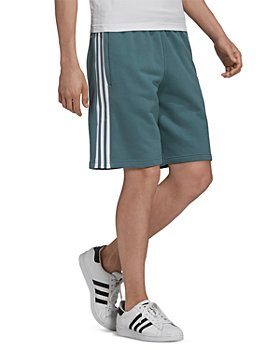 adidas Originals - Cotton French Terry Ombré 3D Trefoil Logo Embroidered Regular Fit Drawstring Shorts