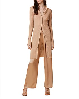 SABLYN - Bea Ribbed Cashmere Cardigan Sweater Dress