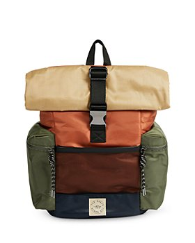 Ted Baker - Roll Top Colorblocked Backpack