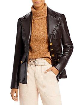 A.L.C. - Amelia Faux Leather Jacket