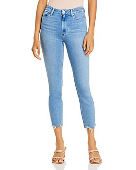 PAIGE - Cindy Ultra High Rise Ankle Jeans in Lovesong