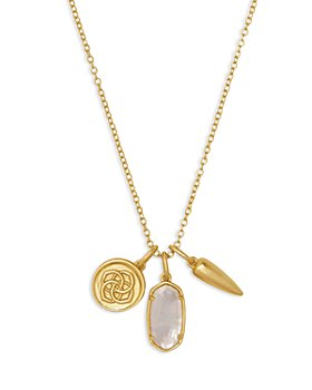 "Kendra Scott - Dira Triple Charm Necklace, 19"""