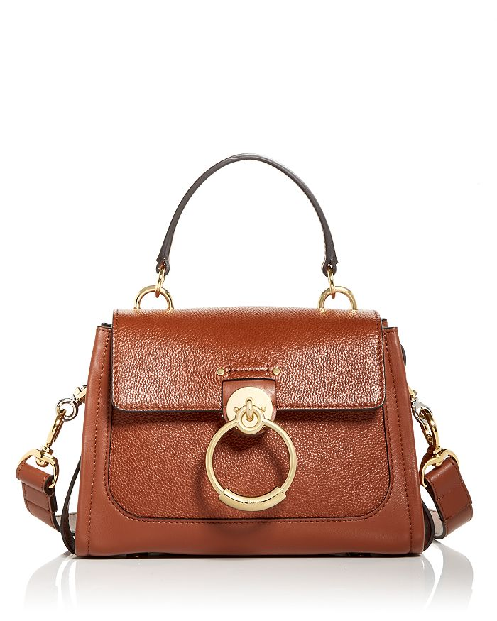 Chloé - Tess Small Leather Shoulder Bag