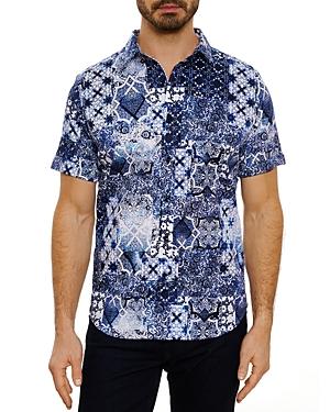 Robert Graham Ballad Short Sleeve Shirt, Bloomingdale's Slim Fit