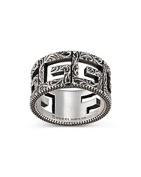 Gucci - Sterling Silver G Cube Ring