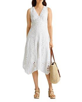 Ralph Lauren - Lace A Line Dress