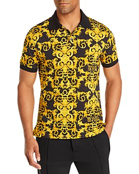 Versace Jeans Couture - Logo Baroque Slim Fit Polo Shirt