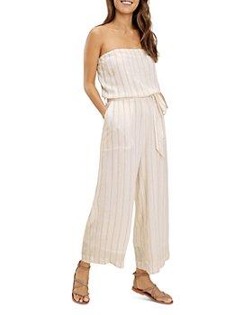 Splendid - June Striped Strapless Jumpsuit