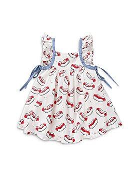Pink Chicken - Girls' Ailee Hot Dog Print Dress - Little Kid