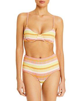 Solid & Striped - The Ginger Bikini Top & The Ginger Bikini Bottom