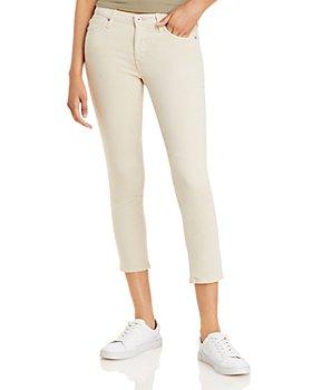 AG - Crop Skinny Jeans in Mineral Veil