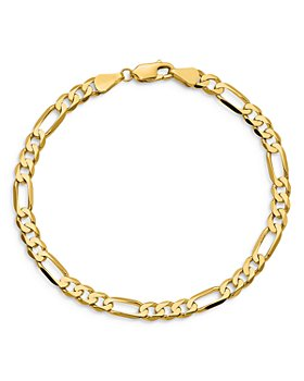 """Bloomingdale's - Men's Figaro Link Chain Necklace in 14K Yellow Gold, 20"""" - 100% Exclusive"""