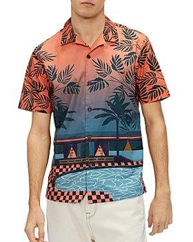 Ted Baker - Pool Print Shirt