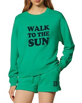 Sandro - Sunlight Cotton Sweatshirt
