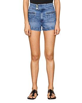 FRAME - Le Hardy Jean Shorts in Ocean Side