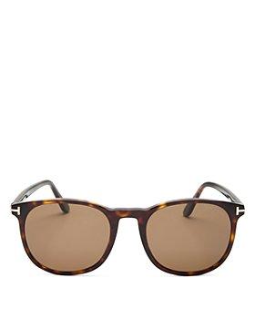 Tom Ford - Men's Ansel Polarized Round Sunglasses, 53mm