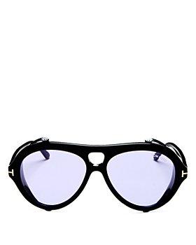 Tom Ford - Men's Neughman Brow Bar Aviator Sunglasses, 60mm