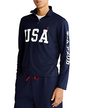 Polo Ralph Lauren - Team USA Mesh Quarter Zip Pullover