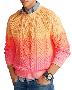 Polo Ralph Lauren - Dip-Dyed Cable Knit Sweater