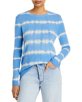 C by Bloomingdale's - Tie Dyed Cashmere Sweater - 100% Exclusive