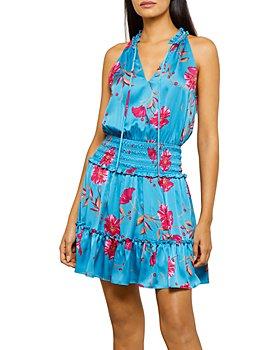 BCBGMAXAZRIA - Smocked Mini Dress