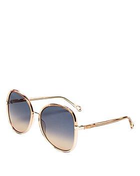 Chloé - Women's Round Sunglasses, 60mm