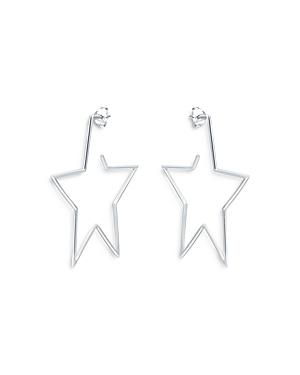 Aqua Star Drop Earrings in Sterling Silver - 100% Exclusive