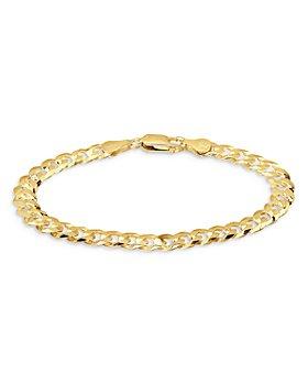 AQUA - Cuban and Curb Link Chain Bracelet - 100% Exclusive