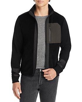 Z Zegna - TechMerino Color Blocked Fleece Jacket