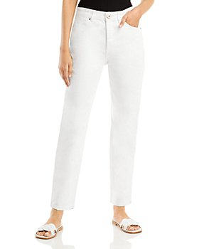 Lanvin - Straight Leg Jeans in Optic White