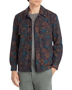 Paul Smith - Floral Print Slim Fit Shirt Jacket