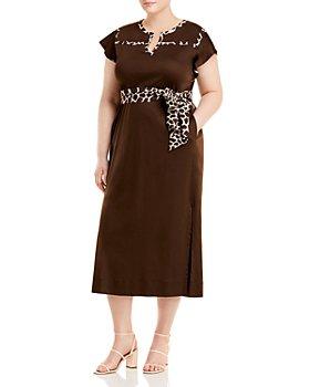 Marina Rinaldi - Omero Belted Midi Dress
