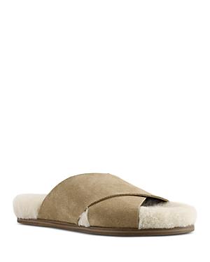 Women's Canna Shearling Slide Sandals