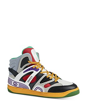 Gucci - Men's Basket Interlocking G High Top Sneakers