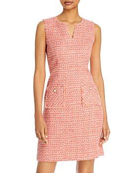 KARL LAGERFELD PARIS - Tweed Pocket Dress
