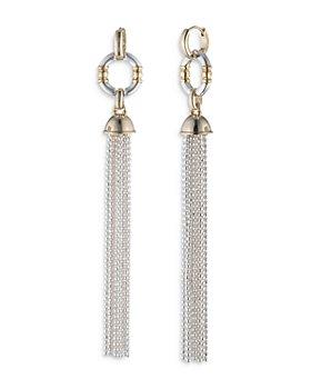 Ralph Lauren - Two Tone Tassel Drop Earrings