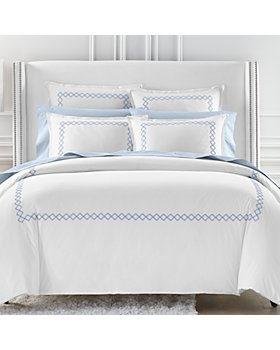 Sky - Embroidered Percale Bedding Collection - 100% Exclusive
