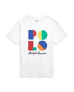 Ralph Lauren - Boys' Cotton Logo Tee- Little Kid, Big Kid