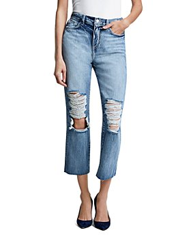 L'AGENCE - Adele High Rise Crop Stovepipe Jeans in Fallbrook