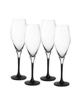Villeroy & Boch - Manufacture Rock Champagne Flute, Set of 4