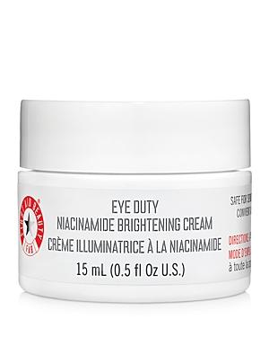 Eye Duty Niacinamide Brightening Cream 0.5 oz.