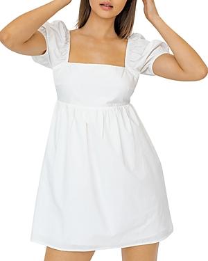 Back Tie Mini Dress (18% off)