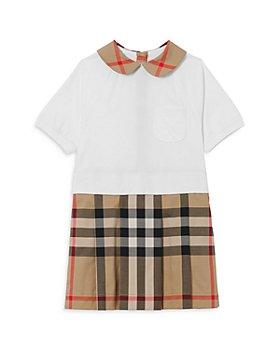 Burberry - Girls' Veronica Plaid Jersey T-Shirt Dress - Little Kid, Big Kid