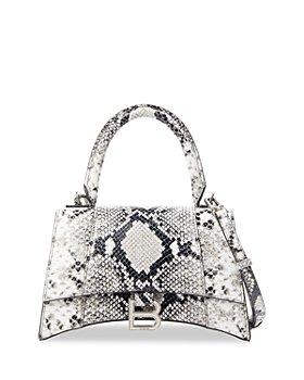 Balenciaga - Snake Print Mini Leather Shoulder Bag