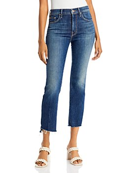 MOTHER - Insider Step Crop Fray Jeans in Girl Crush