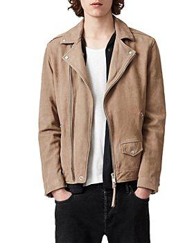 ALLSAINTS - Milo Leather Regular Fit Biker Jacket