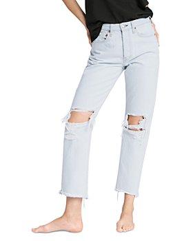 rag & bone - Maya High Rise Ankle Jeans in Ditch Plains