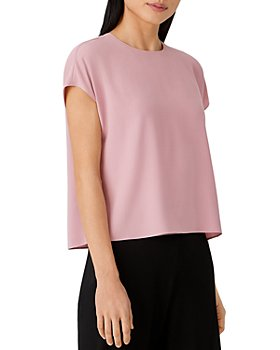 Eileen Fisher - Silk Cropped Top