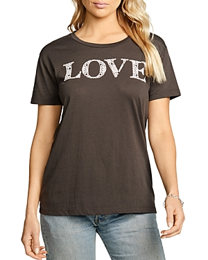 Love Print Short Sleeve Tee