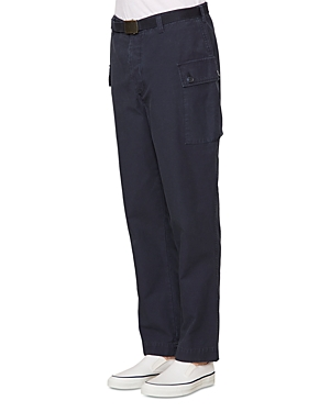 Officine Generale Maxence Pigment Dyed Chino Cargo Pants